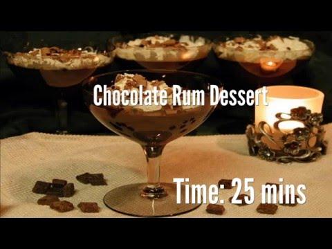 Chocolate Rum Dessert Recipe