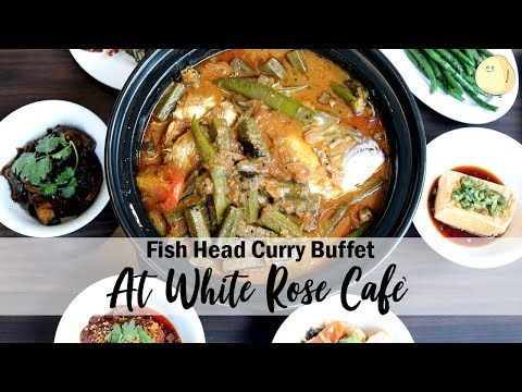 White Rose Cafe - Treasured Flavours Of Singapore With Curry Fish Head, At York Hotel
