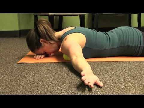 Self Massage for shoulder pain and pect pain
