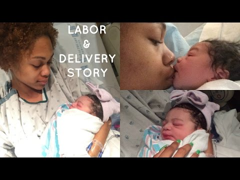 Labor & Delivery Story + Emergency C-Section?! | 19 & Pregnant