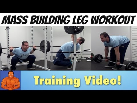 Mass Building LEG Workout - Do This For BIGGER Quads & Hams!