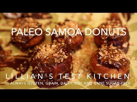 Paleo Samoa Donuts