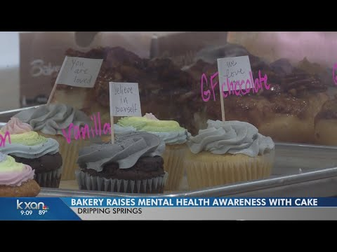 Depressed Cake Shop is a grassroots effort aimed at raising mental health awareness