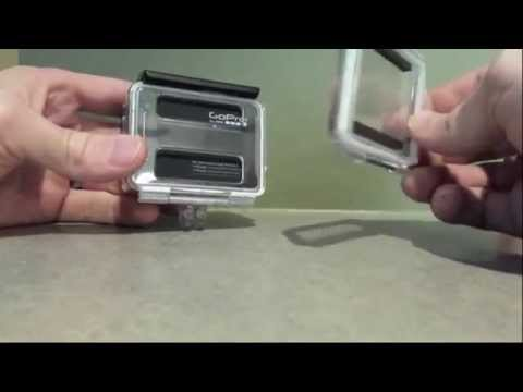 How To Remove GOPRO HERO 4 Back Door     Remove & Replace