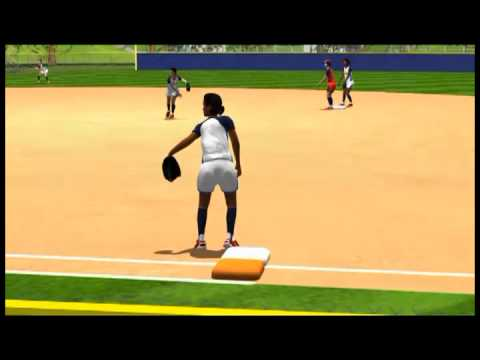 Animated Playbook - 1st and 3rd Defense -  USA Softball With Coach Mike Candrea