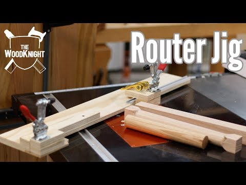 Router jig/Dowel making sled