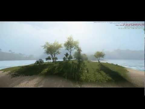 Cryengine 3 Game Update 3.0 extreme graphics demo (my custom game)