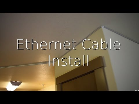 Install Ethernet in Another Room (Congested WiFi)