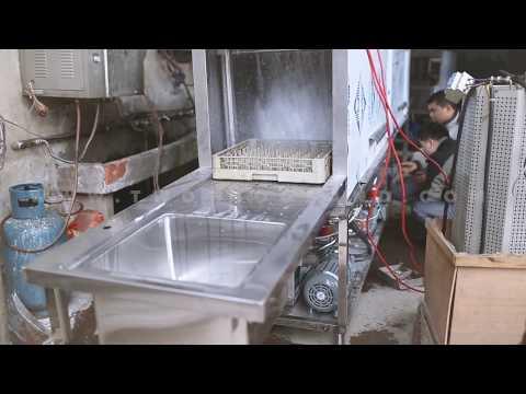 Commercial Restaurant Tunnel Type Dishwasher, Dish Washing Machine