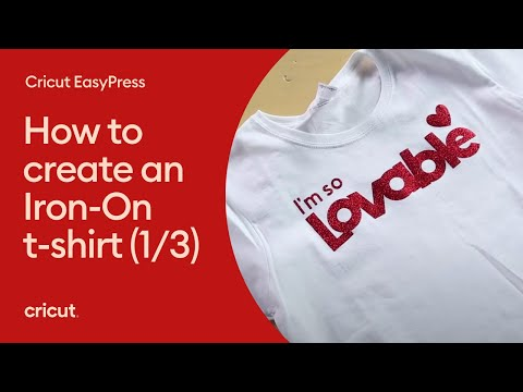 1 of 3 How to Create an Iron-on T-Shirt - Creating a Design from Scratch