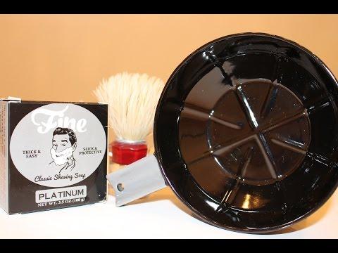 FINE Stoneware Shaving Lather Bowl *REVIEW*