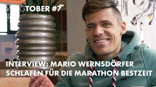 Mario Wernsdörfer: Schlafen Für Die Marathon Bestzeit   Vlog 130