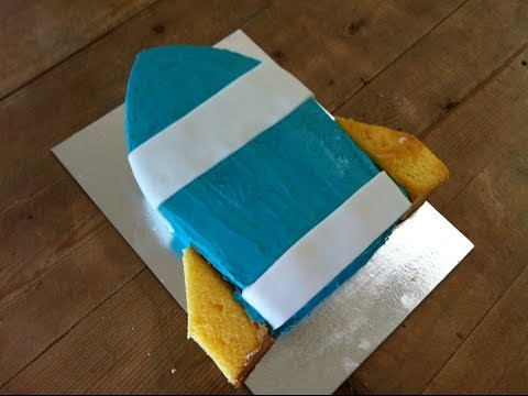 How to Make a Rocket Birthday Cake