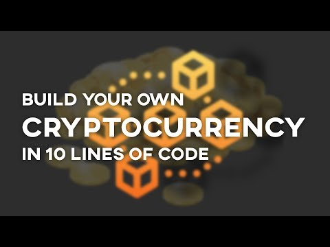 Create Your Own Cryptocurrency – Free Webinar [SIGN UP]