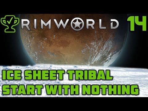 Muffalo Hypothermia - Rimworld Ice Sheet Tribal Ep. 14 [Rimworld Beta 18 Ice Sheet Challenge]