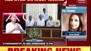 India Today - All Eyes on SCO Summit - Will Modi-Nawaz Meet? (featuring G Parthasarathy)