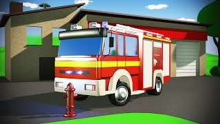Feuerwehr Kinderfilm Auto Sam / Fire truck kids animation / Augustino