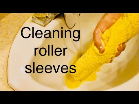 Clean your Paint Roller Sleeve in less then 5 Mins !!