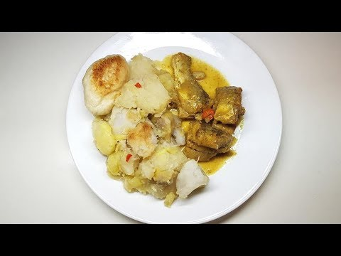 Boil and Fry Ground Provision with Duff (Dumplings) Recipe II Real Nice Guyana ( HD)