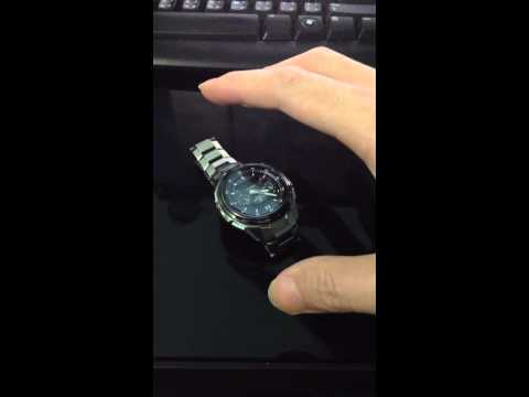Move my watch without touching it.