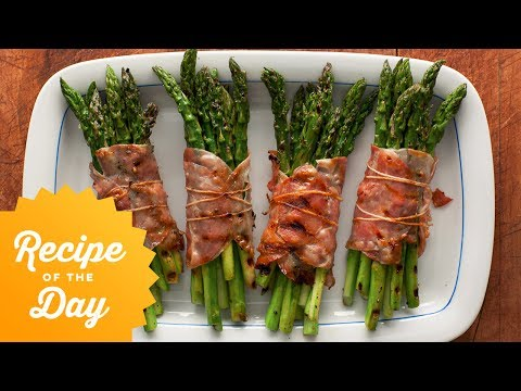 Recipe of the Day: Rachael's Bacon-Wrapped Asparagus Bundles | Food Network