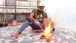 BURNING MY MOM's SHOES 😱 !!! *PRANK GONE WRONG*