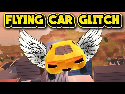 FLYING CAR GLITCH! (ROBLOX Jailbreak)