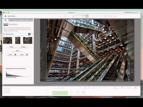Using Google Picasa to Crop and add Text to Images