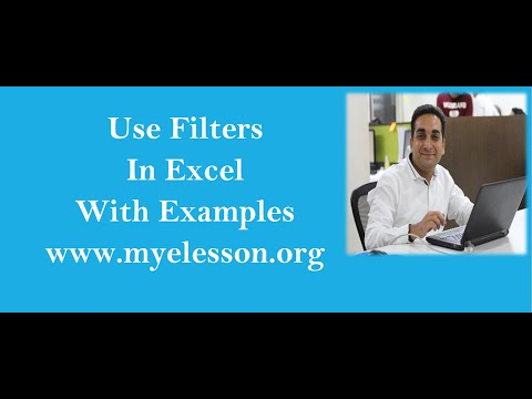 Use Filters in Excel Hindi