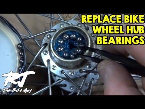 How To Replace Bike Wheel Hub Bearings