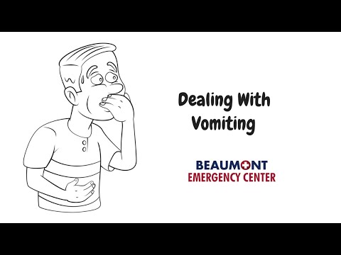 Dealing With Vomiting