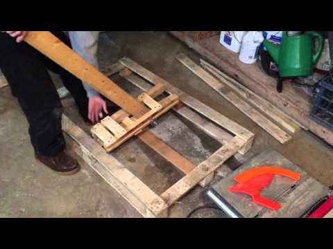 Pallet Breaker! Tired of taking forever to break down pallet wood?