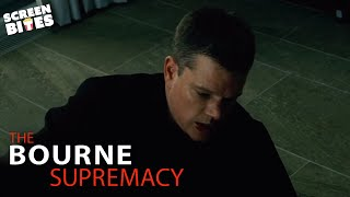 Bourne Wins a Fight With a Newspaper | The Bourne Supremacy | SceneScreen