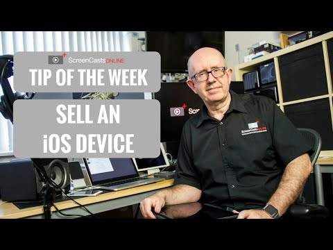 ScreenCastsOnline - Tip of the Week #scototw020 - Sell an iOS device