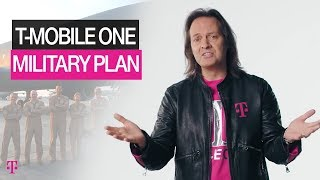 T-Mobile ONE Military Phone Plans | Discounts & Careers | T-Mobile
