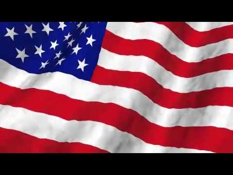 American Flag Wave Motion Background