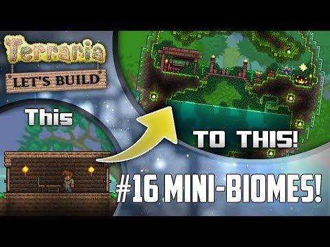Terraria Let's Build Part 16 | MINI BIOMES! | Easy to use design! | PC | Console | Mobile