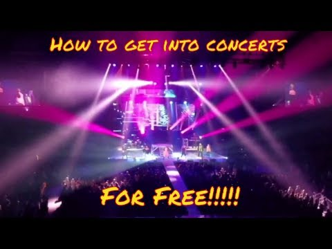 How to get into concerts for free while traveling in your RV