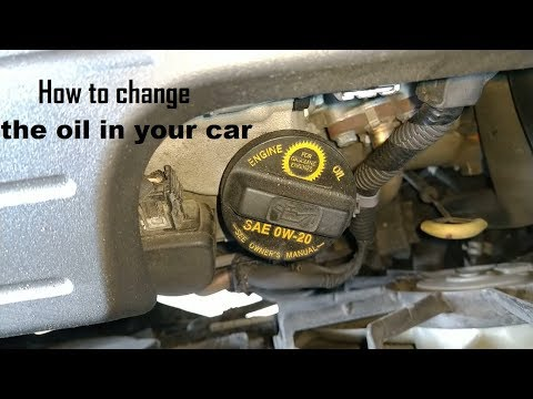 How to change your oil & reset the oil life display | Honda Odyssey DIY video #diy #oil