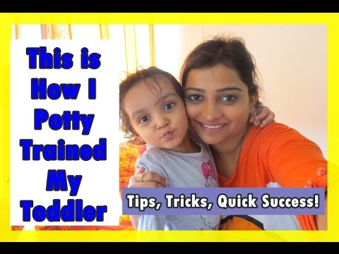 This is How I Potty Trained My Toddler - Simple Tips, Tricks, Success in 7 Days | Indian Mom on Duty