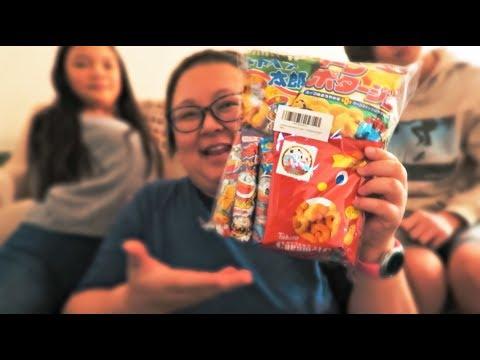 Trying Amazon Japanese Snack Box