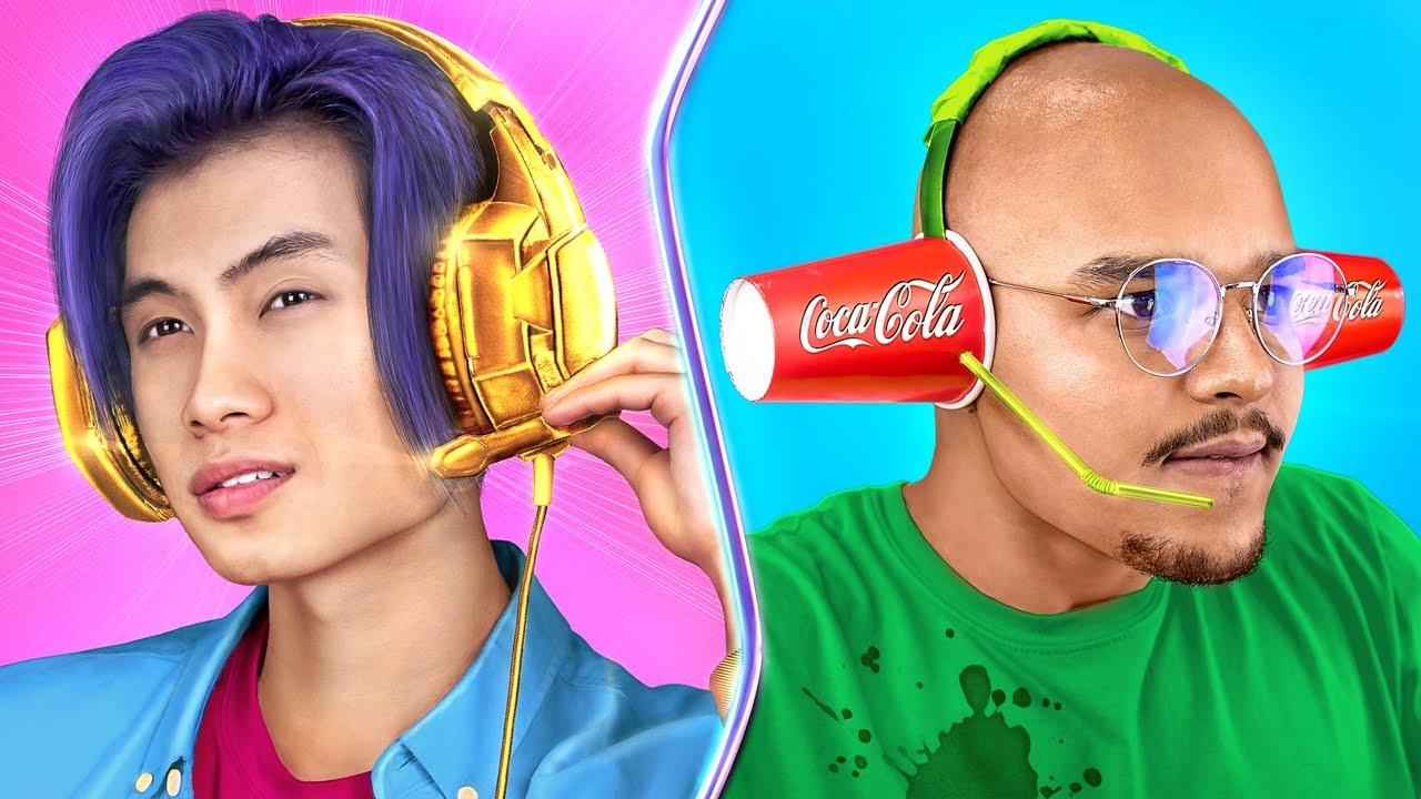 Rich Gamer vs Broke Gamer
