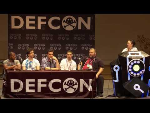 DEF CON 24 - Panel - MR ROBOT Panel