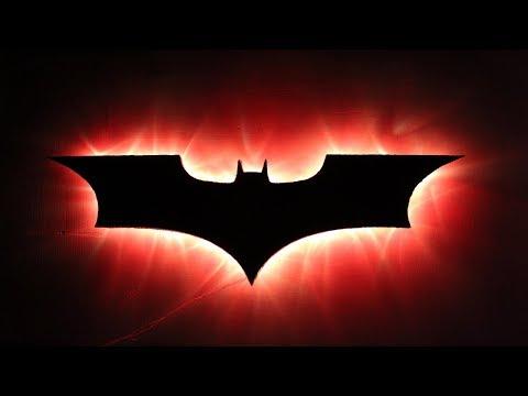 How To Make A Batman Lamp | DIY Craft For Children