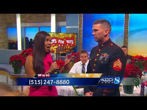 Share a gift as part of Toys for Tots Tuesday