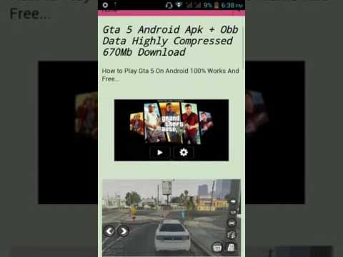 How to download GTA 5 for android for free