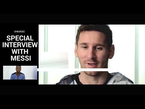 Skit : Emma Ohmagod - OhEmGee Mock Interviews - (Messi Opens up on His Fears About The Super Eagles)