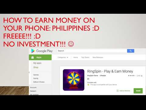 HOW TO EARN MONEY USING YOUR SMARTPHONE!! :D Philippine Edition! :)