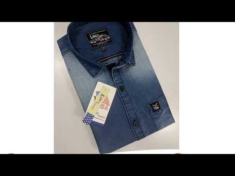 Cheap l Direct From Factory l Wholesale l Denim Shirt Branded & Non Branded