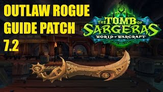 WoW 7 2 Outlaw Rogue Artifact Challenge Appearance (Agatha) - 900